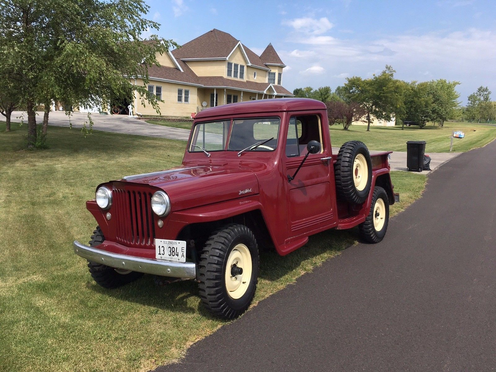Wanted Ewillys 1950 Willys Jeep Pickup Truck 1948 Manhattan Il6