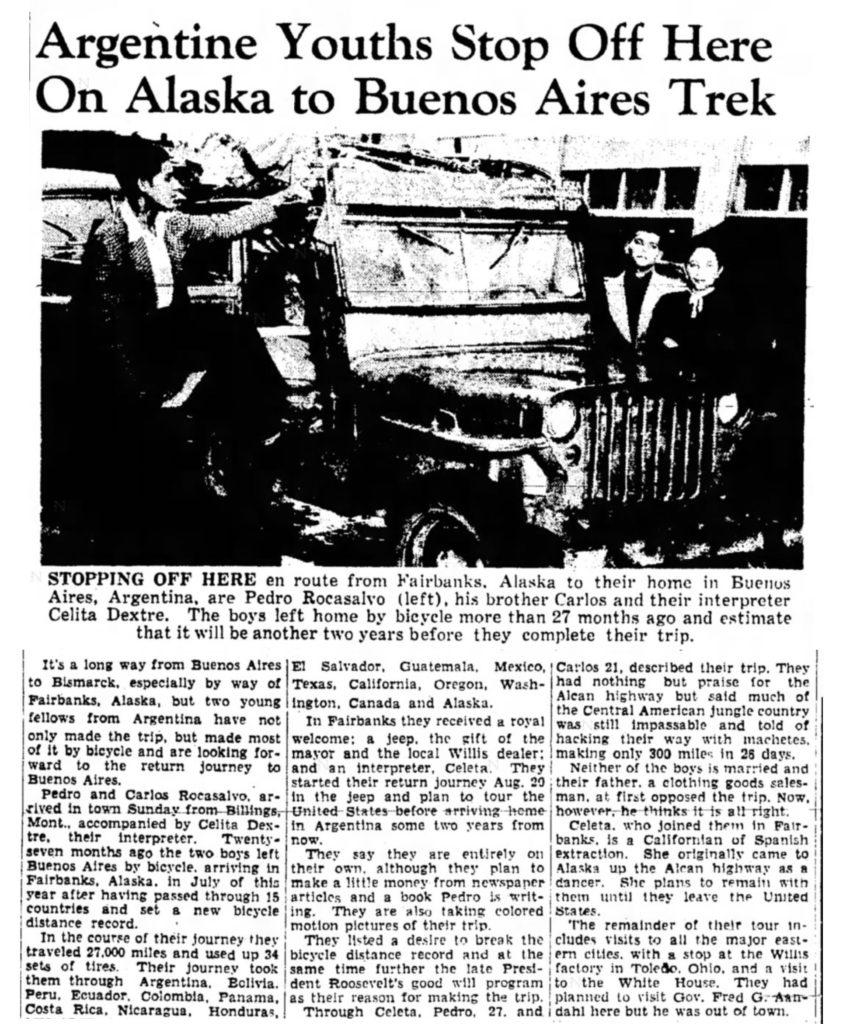 1948-09-21-bismarck-tribune-rocasalvo-argentina-trip