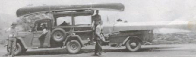 1952-boy-scout-trip-photo-truck-canoes