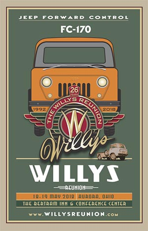 2018 Spring Willys Reunion 2018 ad