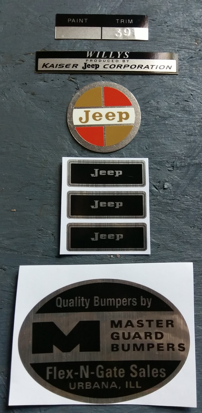 Full-Size Jeep Emblems From Mike | eWillys