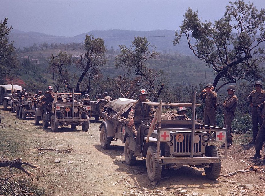 Color WWII Photos | eWillys