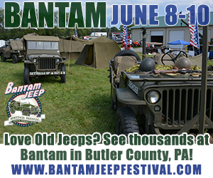 2018 Bantam Jeep Festival ad