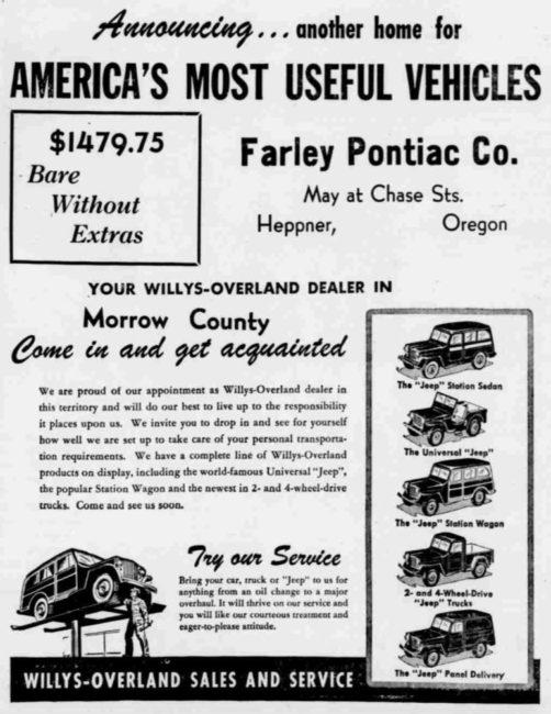 1949-10-27-heppner-gazette-times-willys-overland-ad