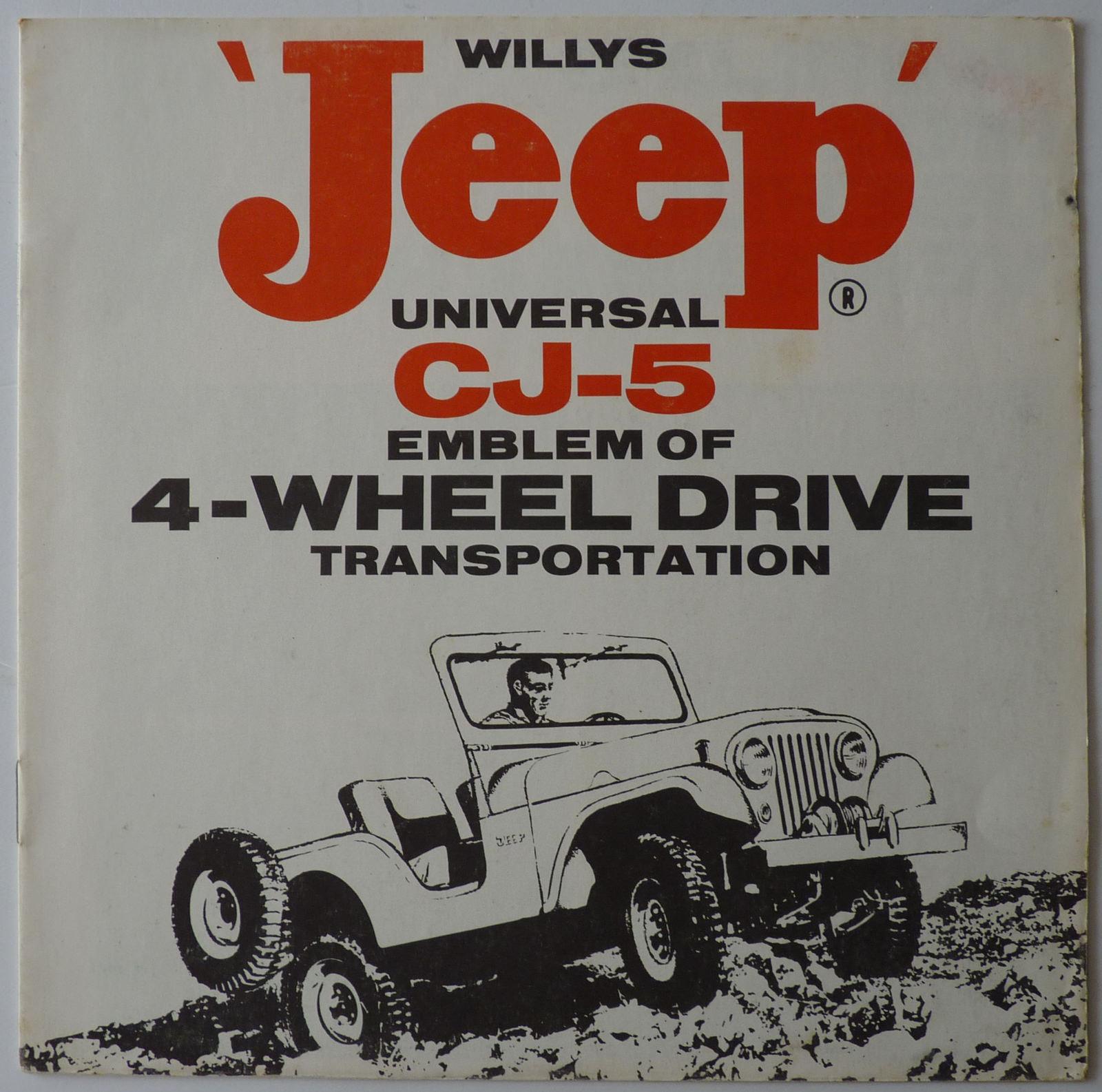1950s CJ-5 Brochure on ebay   eWillys
