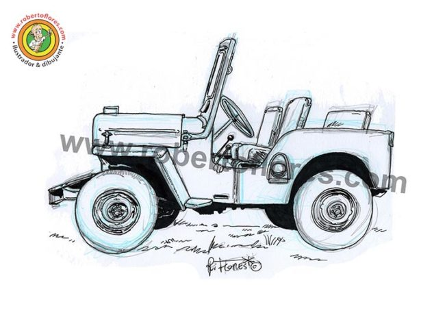 dibujo_1_willys_cj3b_jeep_3_doodle_web