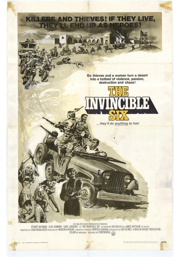 invincible-six-poster