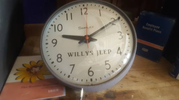 willys-jeep-clock-toledo-oh