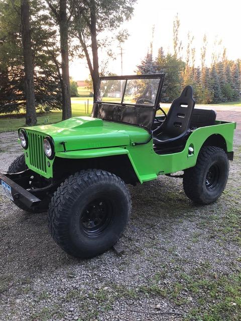 FUEL VACUUM PUMP Willys Jeep 1946 1947 1948 1959 1950 1951 1952 1953 134 engine