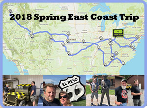 2018 east coast trip eWillys