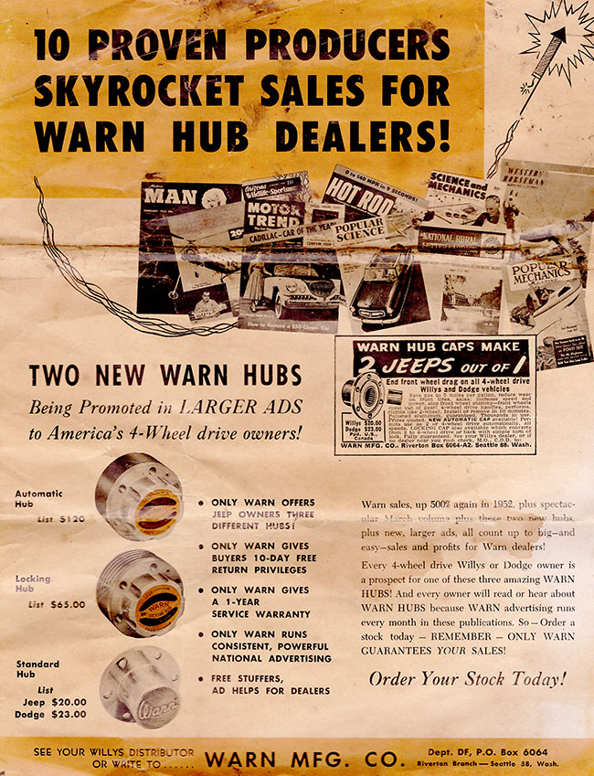 1953-warn-10-proven-procuders-brochure