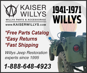 Kaiser Willys Jeep Parts