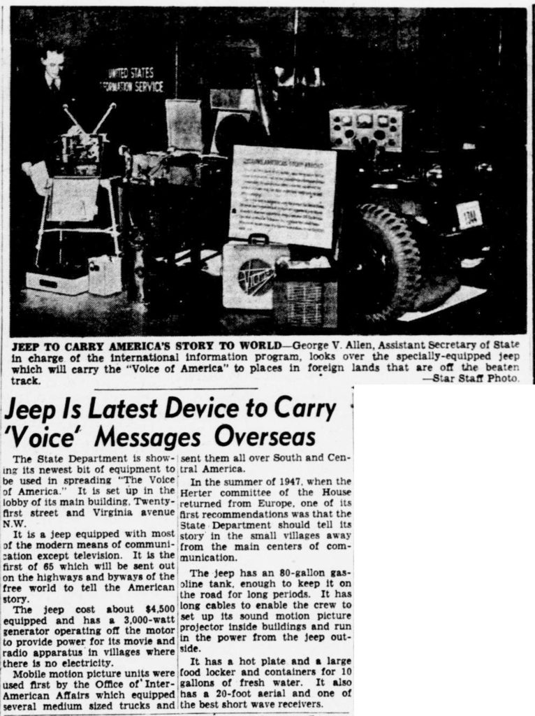 1949-04-17-sunday-star-voice-of-america-jeep
