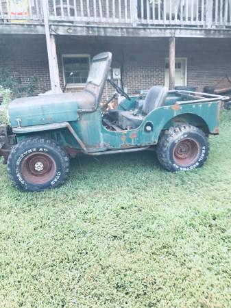 1962 CJ-3B Hays, NC $3000 | eWillys