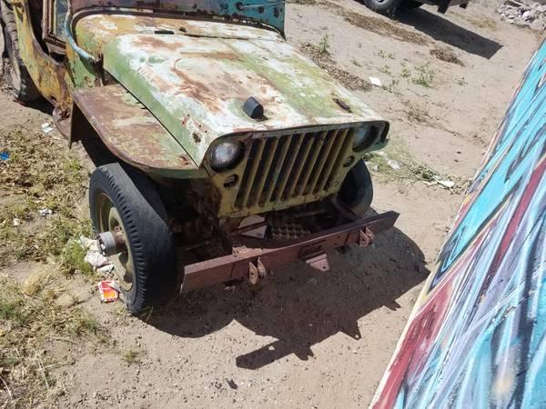 Craigslist Las Cruces Nm >> 1942 Gpw Las Cruces Nm 1500 Ewillys
