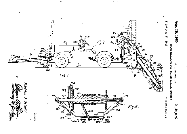 1950-08-15-auburn-trench-patent1