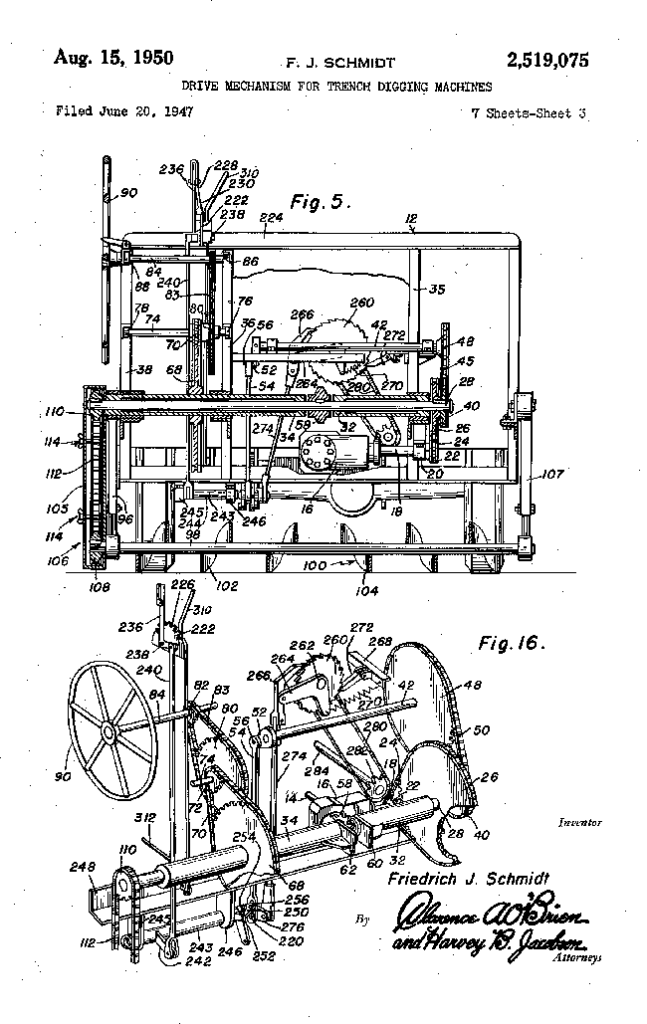 1950-08-15-auburn-trench-patent5