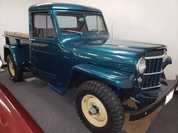 Willys Jeep Truck For Sale >> Willys Trucks Ewillys