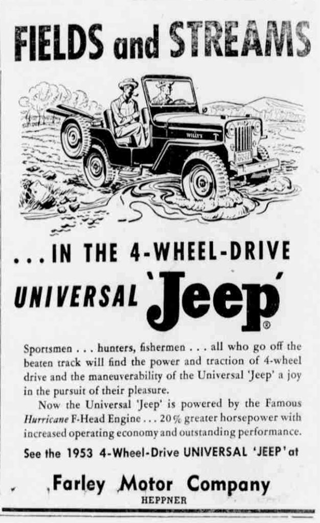 1953-04-23-heppner-gazette-fields-and-streams-ad-pg2