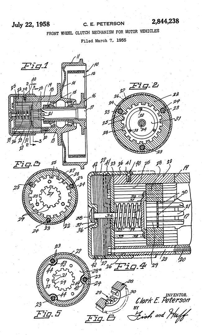 1955-03-07-peterson-hub-patent