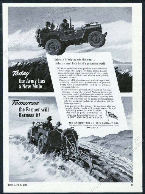 1943-04-25-time-magazine-nickel-company-jeeps-ad