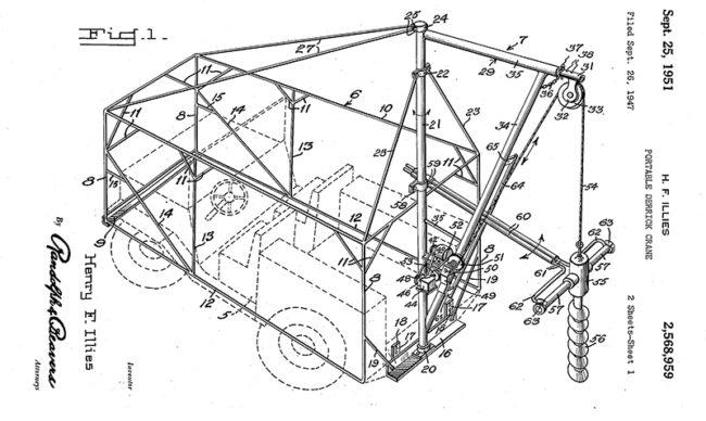 1947-09-26-portable-crane-patent1