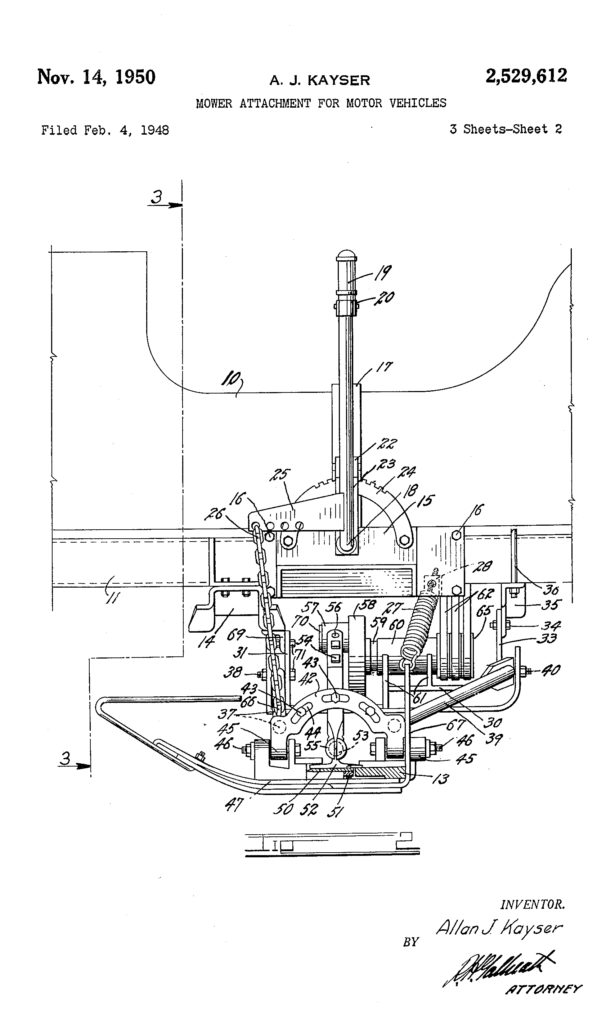 1948-02-04-kayser-mower-patent-k-and-k1