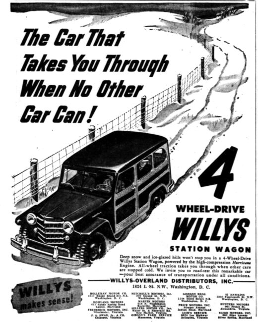 1951-02-13-evening-star-willys-wagon-gets-through-pga15