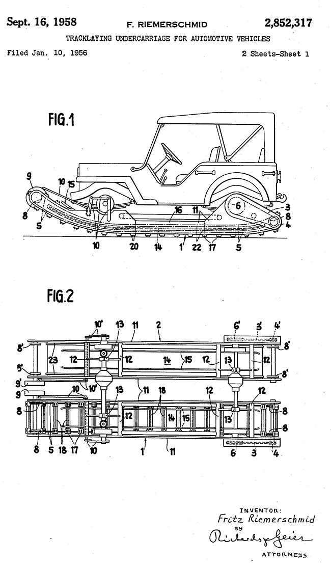 1955-01-13-patent-endless-track-riemerschmid1
