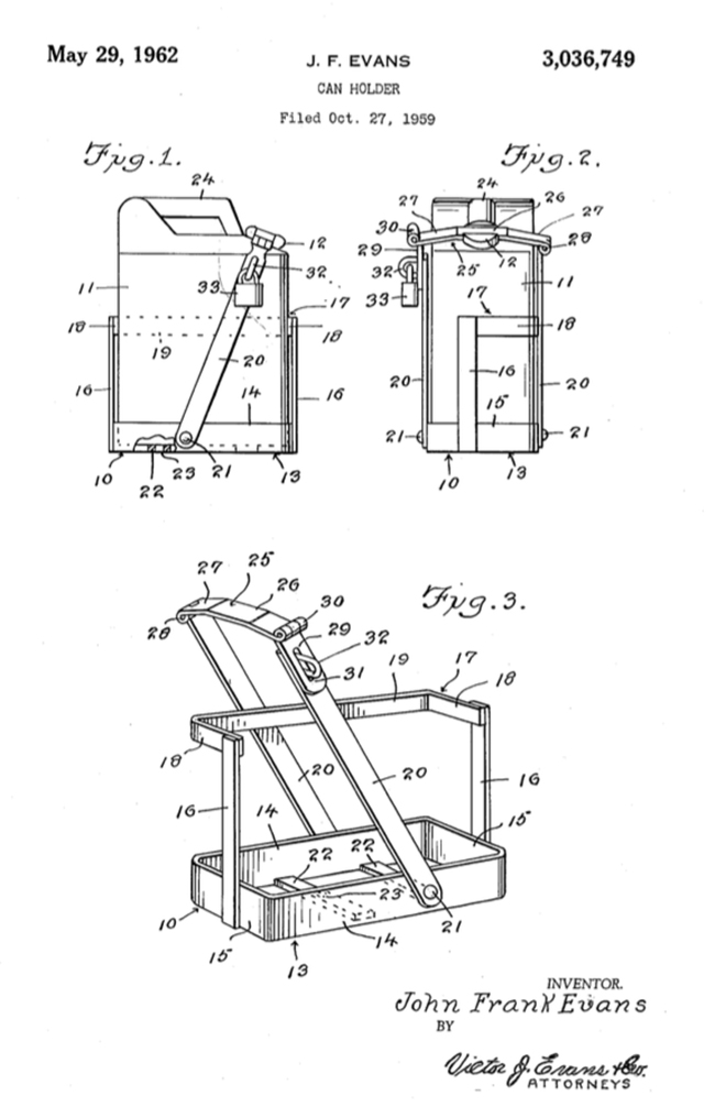 1959-10-27-jerry-can-holder-patent