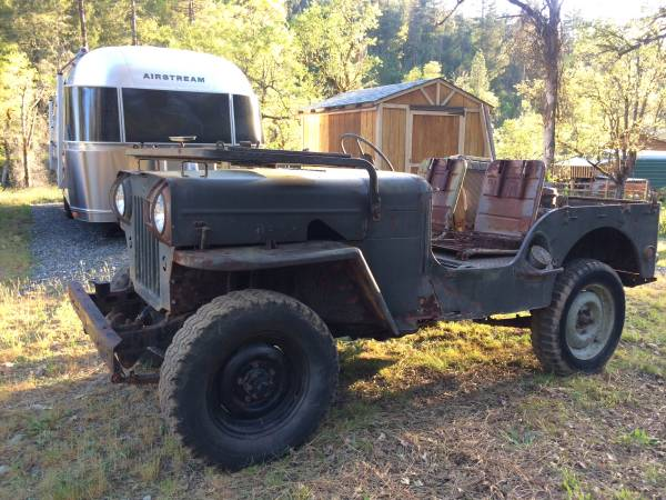 Beautiful 1951 Dodge M37 Power Wagon 24 Volt With Winch And