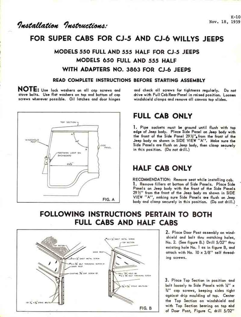 1959-11-18-cj5-cj6-koenig-model-550-555-650-hardtop-instructions-1-lores