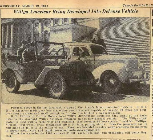 willys-quad-newspaper-with-willys-car