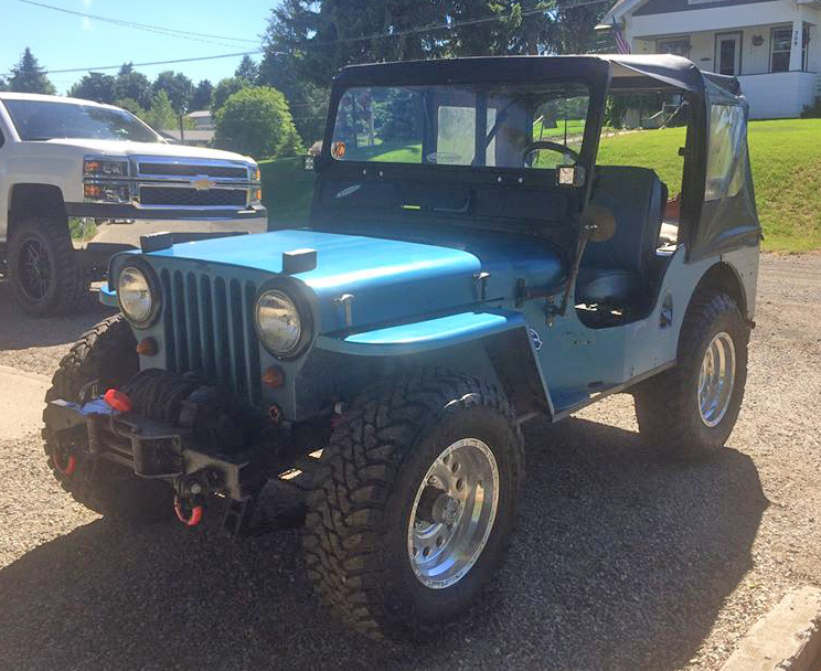 CJ3A Pickup Late Jeepster. Willys CJ3B Jeep Radiator Cap Wagon CJ5 CJ6