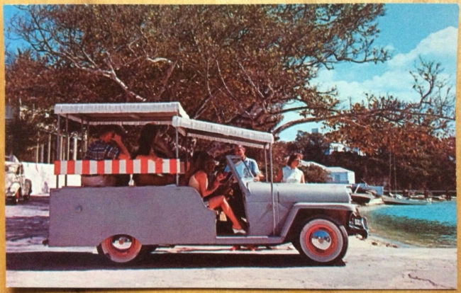 pink-sands-paddy-wagon-postcard