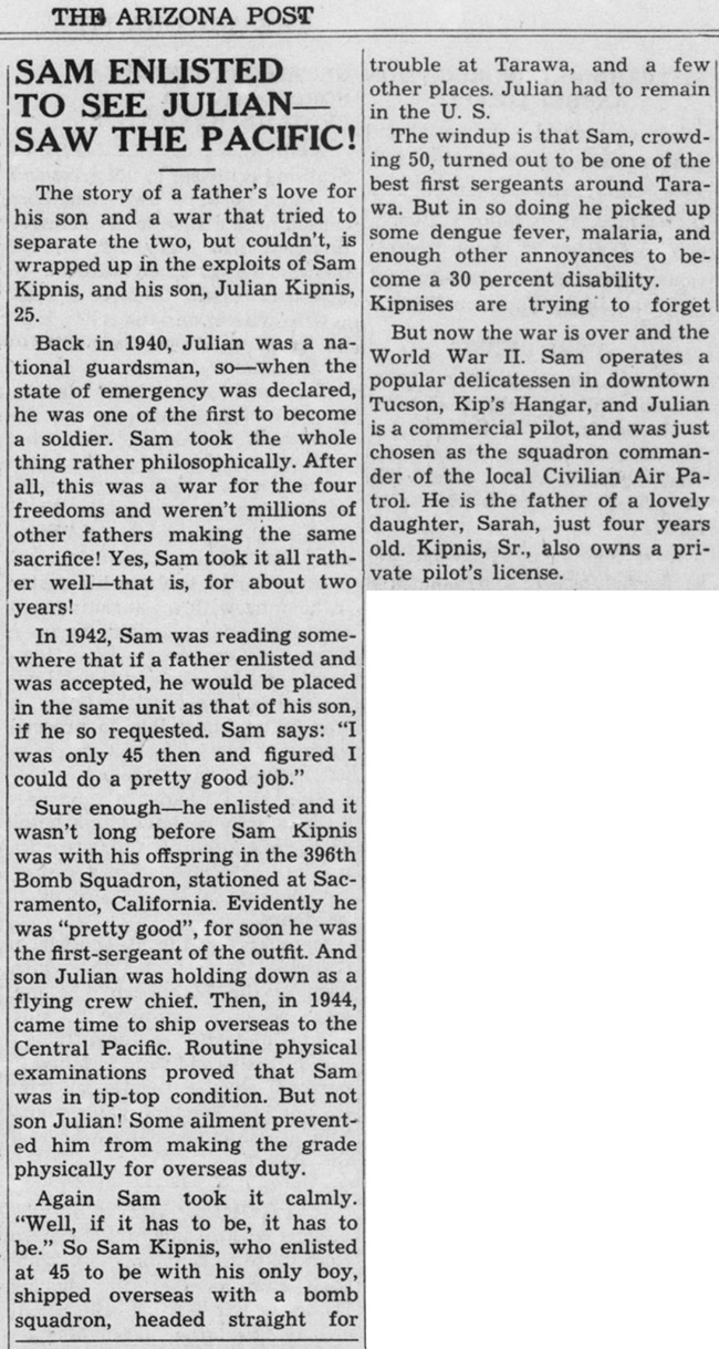 1947-10-03-arizonapost-sam-julian-kipnis