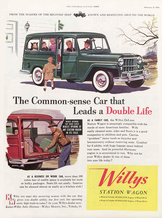 1954-02-27-sat-eve-post-willys-common-sense-car-lores