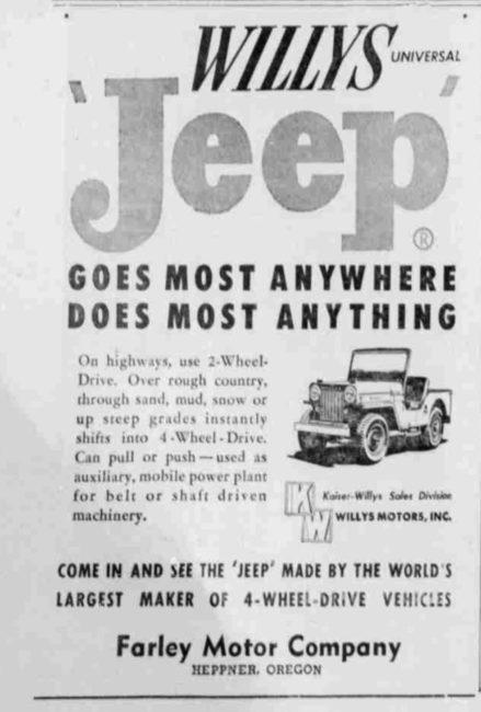 1954-10-14-heppner-gazette-times-willys-ad