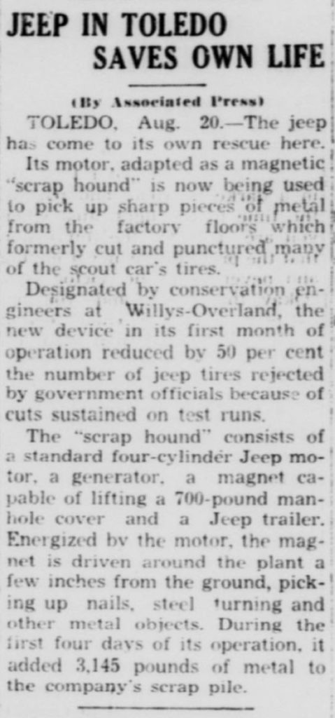1943-08-20-key-west-citizen-jeep-magnet-scraps