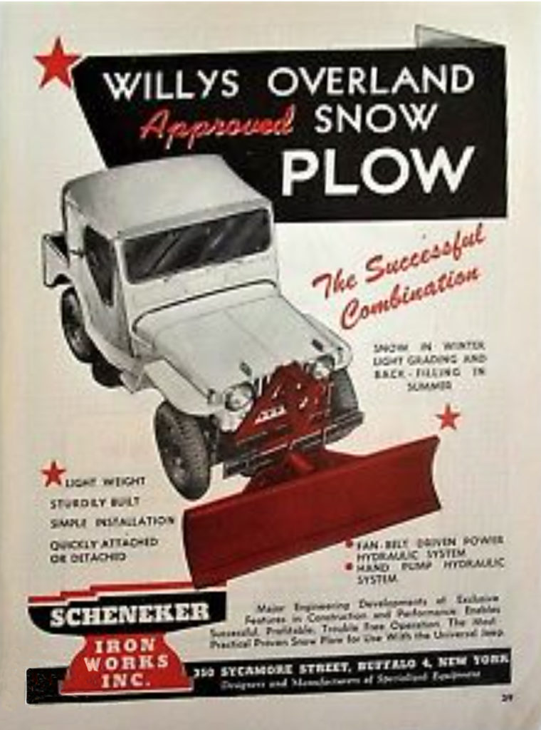 scheneker-ironworks-willys-snow-plow-brochure