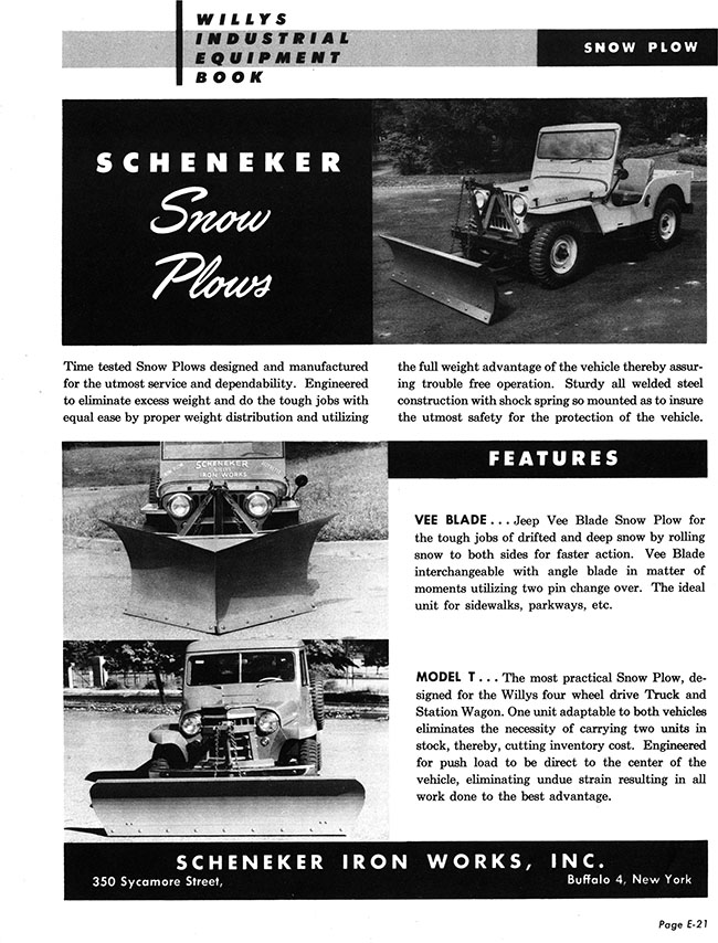 scheneker-snow-plow-willys-industrial-book-lores