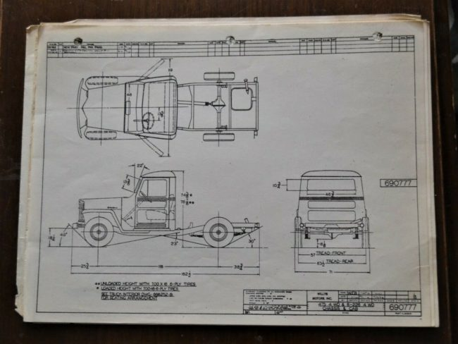 truck-chassis-schematic-drawing