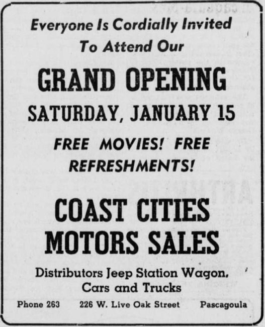 1949-01-14-chronical-star-grand-opening-motor-cities