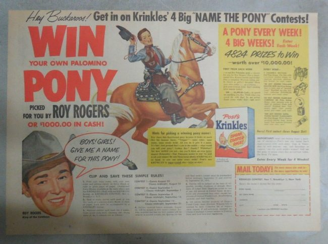 1954-win-a-pony-roy-rogers-contest2