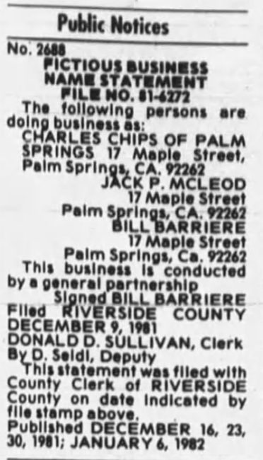 1981-12-30-bill-barriere-charles-chips-begins