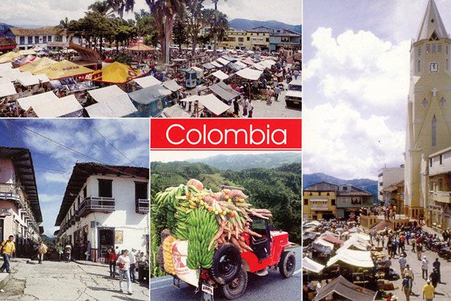 colombia-domingo-de-mercado-santuario-risaralda-postcard1-lores