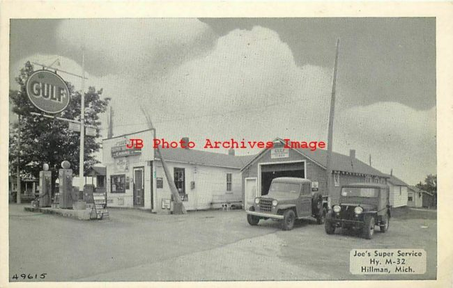 dealer-gas-station-hillman-mi-postcard1