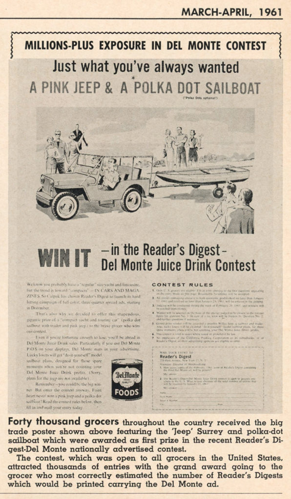 1961-03-04-delmonte-readers-digest-surrey-dj3a-contest