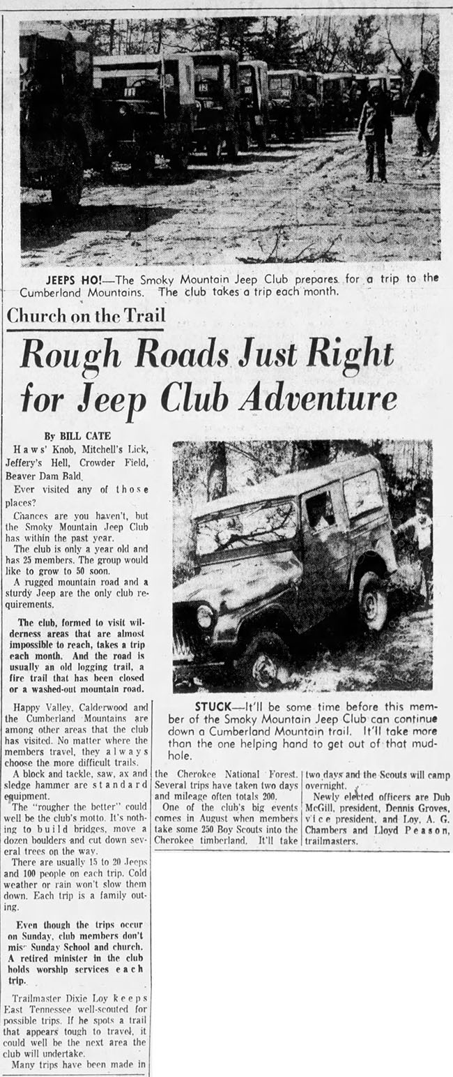 1963-04-07-knoxville-news-sentinel-sun-smoky-mtn-jeep-club-trip-lores