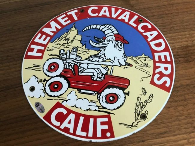 hemet-cavalcaders-club-sign